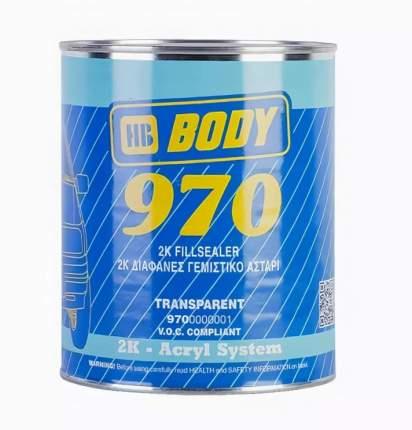 Грунт-Наполнитель Body 970 2к (1л) HB BODY 9700000001