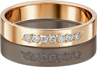 Кольцо женское Платина 01-3491-00-401-1110-18 р.22