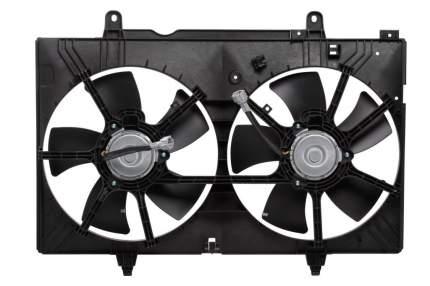 Электровентилятор охлаждения с кожухом Nissan Murano I (Z50) (02-) LUZAR LFK 1450