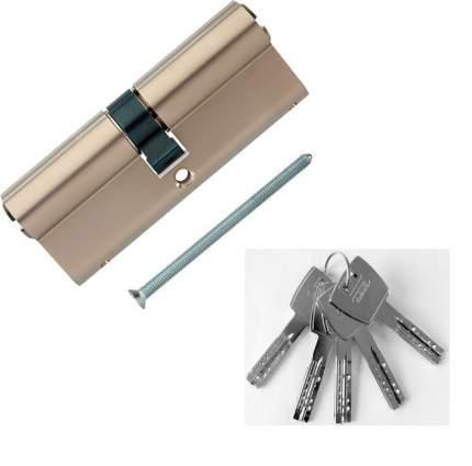 Европрофильный цилиндр ABUS X12R410 ключ/ключ 40-40 (80 мм) NI (5 key)