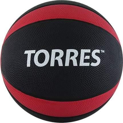 Медбол Torres AL00226 6 кг, -, черный, для разного уровня, резина, клееный