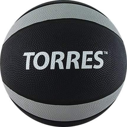 Медбол Torres AL00227 7 кг, -, серый, для разного уровня, резина, клееный