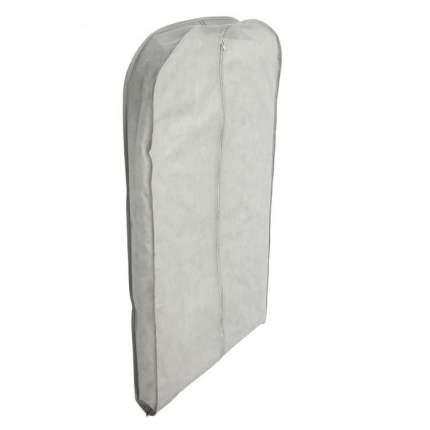 Чехол для одежды зимний, серый, 140 x 60 x 10 см