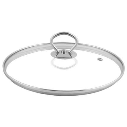 Крышка стекл метал обод метал кнопка 28см TM Appetite