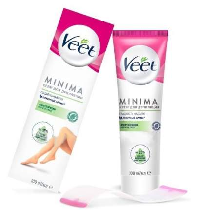 Крем для депиляции для сухой кожи Veet MINIMA 100 мл