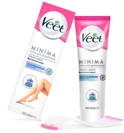 Крем для депиляции для чувствительной кожи Veet MINIMA 100 мл