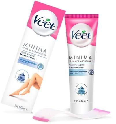 Крем для депиляции для чувствительной кожи Veet MINIMA 200 мл