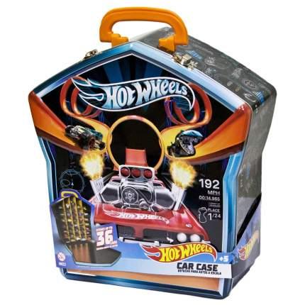 Портативный кейс для хранения 36 машинок Hot Wheels черный