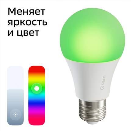 Умная лампа A60 СБЕР/SBER (цоколь E27): LED/RGB/CCT/DIM/WiFi/Bluetooth