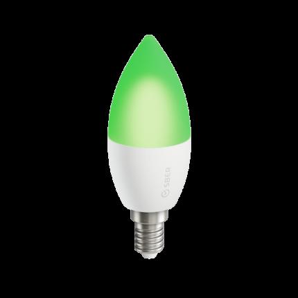 Умная лампа CЗ7 СБЕР/SBER (цоколь E14): LED/RGB/CCT/DIM/WiFi/Bluetooth