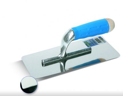 Кельма Inox Boldrini с зеркально-гладкой поверхностью (в упаковке)