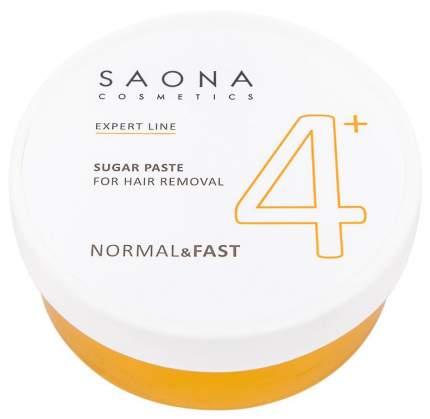 Сахарная паста Saona Cosmetics для депиляцииNormal/Fast № 4+ 200 г