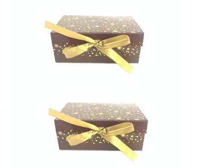 Набор подарочных коробок Academia Шоколад 2 шт