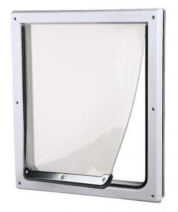 Дверца для кошек и собак TRIXIE 2 функции 20х21см пластик белый
