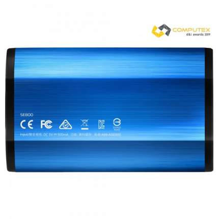 Внешний SSD накопитель ADATA SE800 512GB Blue