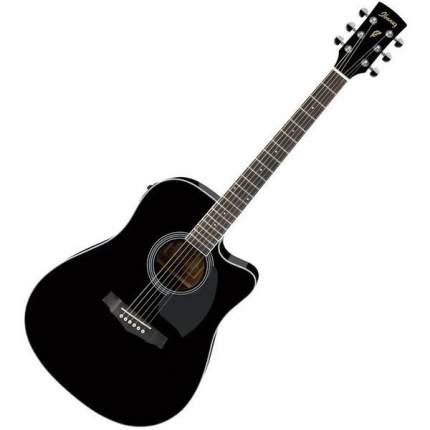 Электроакустическая гитара Ibanez PF15ECE-BK - Ibanez