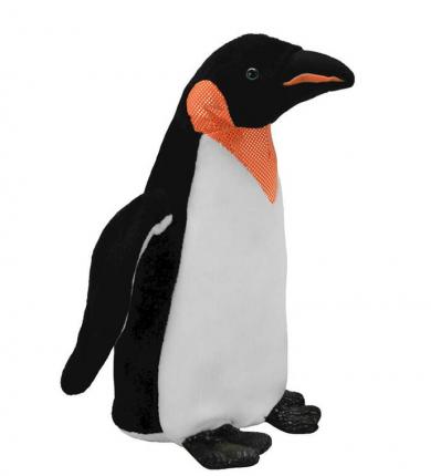 Мягкая игрушка All About Nature Пингвин-император, 25 см