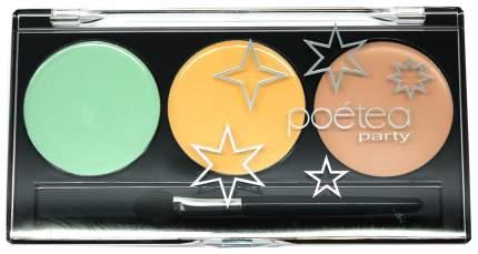 Набор для макияжа POETEQ Трио Светлый беж 9 г