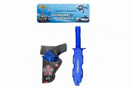 Набор полицейского Наша игрушка 4 предмета