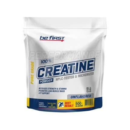 Креатин Be First Micronized Creatine Monohydrate Powder, 300 г, без вкуса