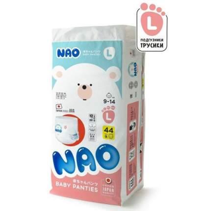 Подгузники-трусики NAO L (9-14 кг) 44 шт