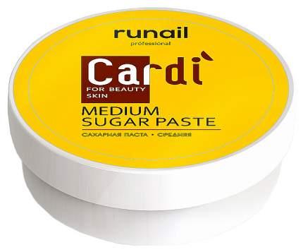 Сахарная паста ruNail Cardi средняя 150 г