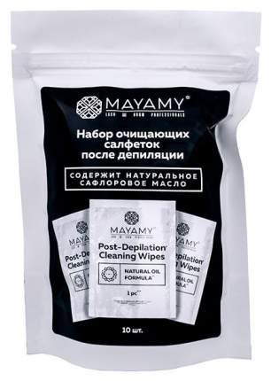 Набор салфеток после депиляции Mayamy 10 шт.
