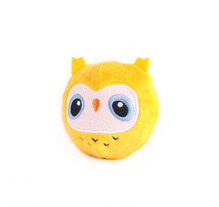 Мягкая игрушка Button Blue Сова, 7 см