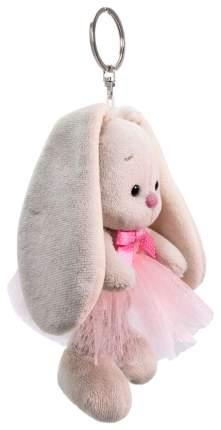 Мягкая игрушка-брелок Зайка Ми в розовой юбке с бантиком