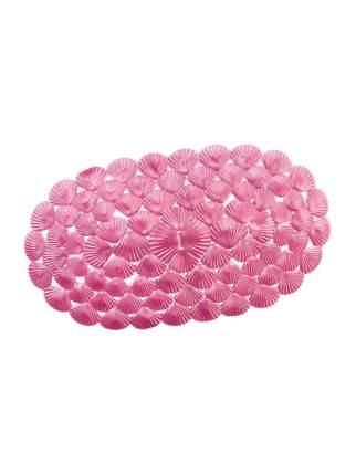 Коврик для ванны на присосках Ракушки (Цвет: Розовый  )