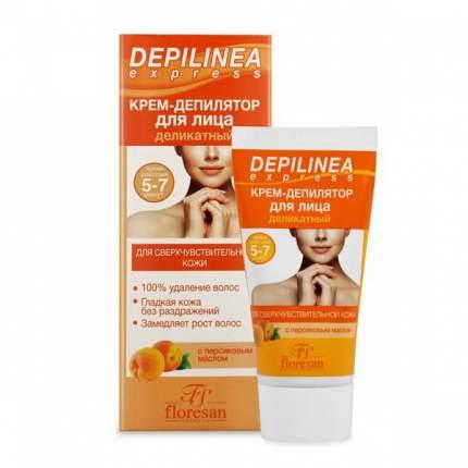 Крем Депилятор для лица Floresan Depilinea Деликатный 50мл