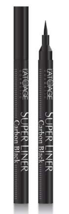Подводка для глаз L'atuage SUPER LINER Carbon Black