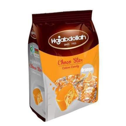 Конфеты из пишмание Hajabdollah Choco Star со вкусом апельсина, во фруктовой глазури 180 г
