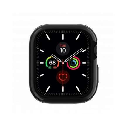 """Бампер SwitchEasy Odyssey для Apple Watch 5 и 4 40mm"""". Цвет черный космос."""
