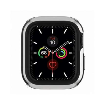 Бампер SwitchEasy Odyssey для Apple Watch 6&SE&5&4 44mm.Цвет серебряный.
