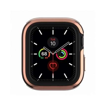 Бампер SwitchEasy Odyssey для Apple Watch 6&SE&5&4 44mm. Цвет розовый золотой.