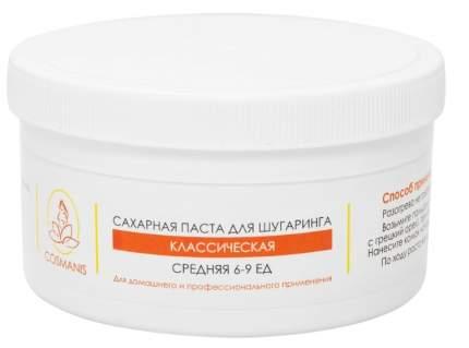 Паста сахарная Cosmanis для шугаринга классическая средняя 500 г