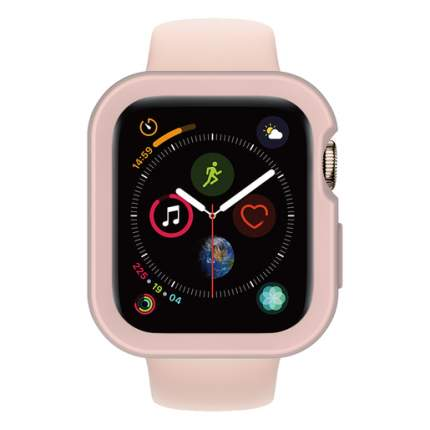 Кейс SwitchEasy Case для Apple Watch 6&SE&5&4 44mm. Материал полиуретан. Цвет розовый.