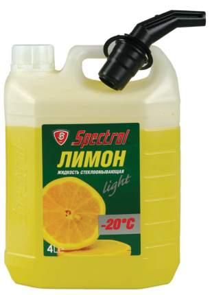 Стеклоомывающая жидкость SPECTROL Лимон -20 4л