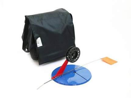 Набор жерлиц зимних 10 шт в сумке, подставка 195, катушка 75 мм, угловая стойка