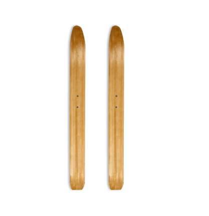 Лыжи Лесные Маяк деревянные 165*11 см