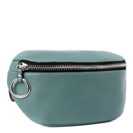 Поясная сумка женская Calzetti ADELE светло-зеленая