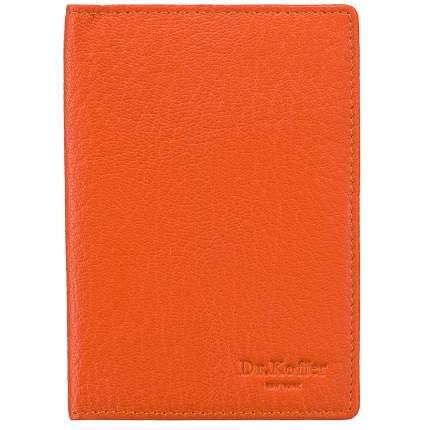 Обложка для паспорта Dr.Koffer X510130-170 оранжевая