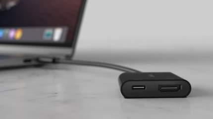 Адаптер Belkin USB-C Adapter (AVC002BTBK) HDMI + Charge Black