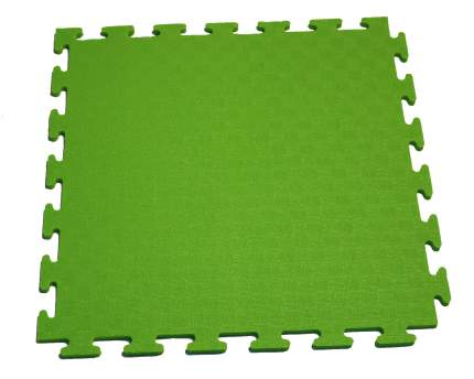 Маты-пазлы DFC для фитнесса и тренажеров, 1 элемент зеленый 1898
