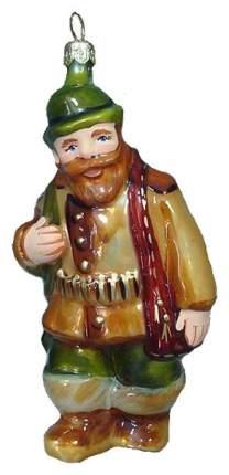 Елочная игрушка Ариель Охотник 752 13 см 1 шт.