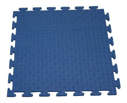 Маты-пазлы DFC для фитнесса и тренажеров, 1 элемент синий 1897