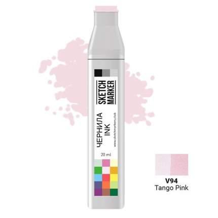 Заправка для маркеров Sketchmarker  на спиртовой основе V94 Розовое танго