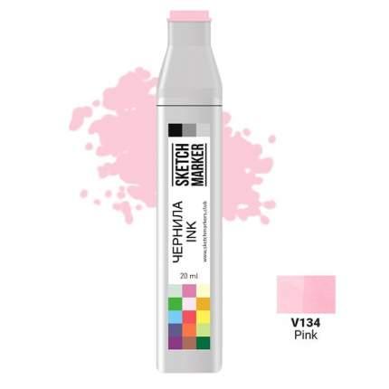 Заправка для маркеров Sketchmarker  на спиртовой основе V134 Розовый