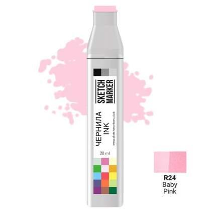 Заправка для маркеров Sketchmarker  на спиртовой основе R24 Детский розовый